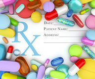 Prescription drugs Stock Image