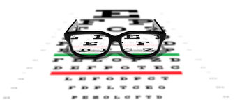 Prescription Glasses Royalty Free Stock Image