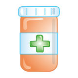 Prescription icon Royalty Free Stock Images