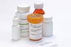 Prescription Invoice Stock Photography