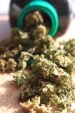 Prescription marijuana stock photography