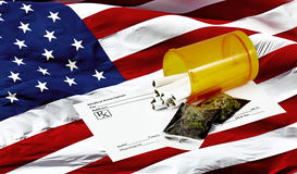 Prescription for Marijuana in America Royalty Free Stock Image