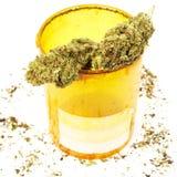 Prescription Marijuana Rx Bottle Royalty Free Stock Image