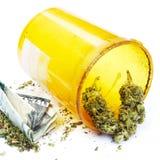 Prescription Marijuana Rx Bottle Royalty Free Stock Photo