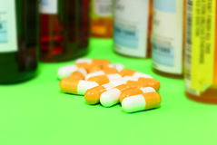 The prescription medication Stock Image