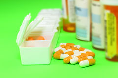 The prescription medication Stock Images