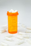 Prescription Medication Bottle Filled With Pills Stock Photos
