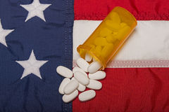 Prescription Medicine In America Royalty Free Stock Photos