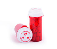 Prescription medicine for animal use Royalty Free Stock Photography