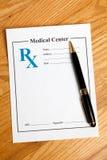 Prescription Medicine Stock Image