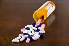 Prescription medicine pills Stock Photography