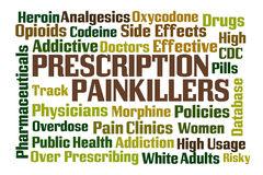 Prescription Painkillers Royalty Free Stock Image
