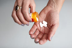 Prescription pills Royalty Free Stock Images