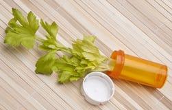 Prescription pour la bonne santé photo libre de droits
