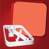 Prescription symbol background Stock Photography
