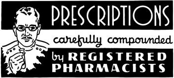 Prescriptions Stock Photography