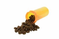 Prescrizione della caffeina Fotografie Stock Libere da Diritti