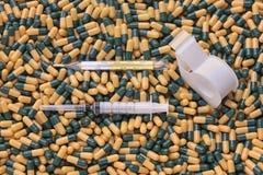 Prescrizione e cura della medicina Immagini Stock Libere da Diritti