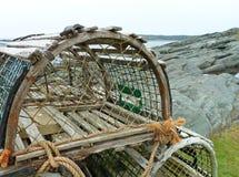 Prese dell'aragosta Fotografie Stock
