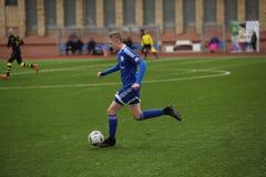 Preseason football tournament in Daugavpils Stock Images