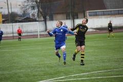 Preseason football tournament in Daugavpils Royalty Free Stock Images