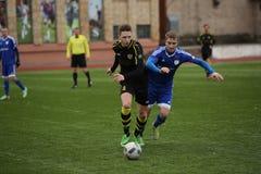 Preseason football tournament in Daugavpils Royalty Free Stock Image