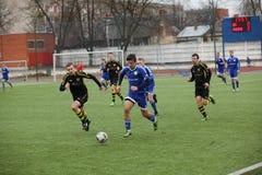 Preseason football tournament in Daugavpils Stock Photo