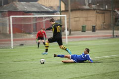Preseason football tournament in Daugavpils Royalty Free Stock Photography