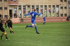 Preseason football tournament in Daugavpils Stock Photography