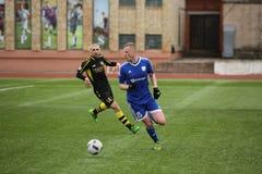 Preseason football tournament in Daugavpils Stock Image
