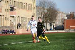 Preseason football tournament in Daugavpils. Stock Photo