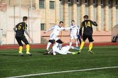 Preseason football tournament in Daugavpils. Royalty Free Stock Images