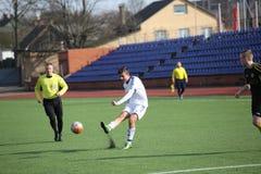 Preseason football tournament in Daugavpils. Royalty Free Stock Photo