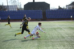 Preseason football tournament in Daugavpils. Royalty Free Stock Image