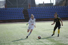 Preseason football tournament in Daugavpils. Royalty Free Stock Photography