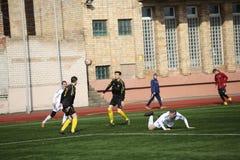 Preseason football tournament in Daugavpils. Stock Photos