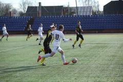 Preseason football tournament in Daugavpils. Stock Photography