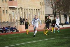 Preseason football tournament in Daugavpils. Stock Images