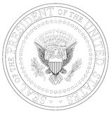 Presedent Seal stock illustration