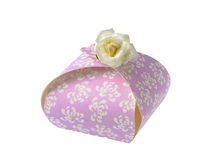 Present. Little present for important anniversaries royalty free stock photos
