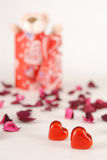 Present. Form my big love Royalty Free Stock Photography