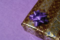Present. Lovely surprise Royalty Free Stock Photography