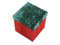 Present. Christmas present isolated on a white background Royalty Free Stock Photo