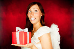 Present angel Stock Photos
