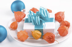 Present as table decoration Royalty Free Stock Photography