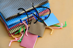 Present bags Royalty Free Stock Image