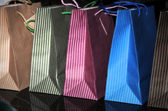 Present bags Stock Image