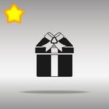 Present black Icon button logo symbol Stock Images