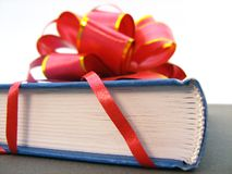 Present Book Stock Photo