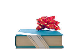 Present book from front view Stock Photography